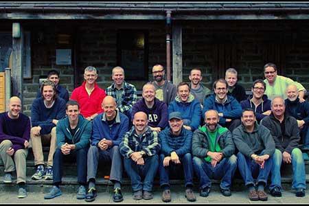 Photo of men's retreat