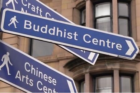 Buddhist Centre Sign
