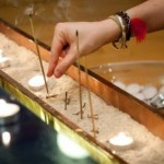 Photo of Candles at Shrine