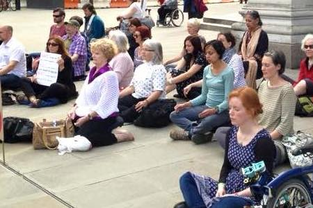 Flash Mob Meditation