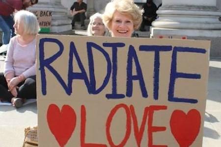 Radiate Love Banner