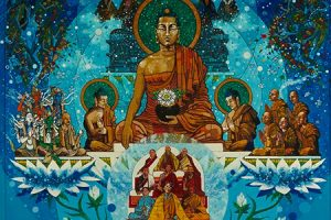 Buddha on the Refuge Tree