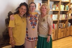 Three Women Sangha Members