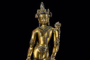 Padmapani: Female Bodhisattva Figure