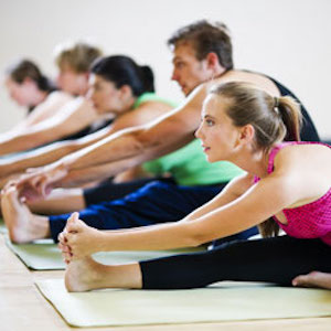 Photo of a Yoga Class