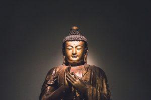 Buddha with teaching mudra