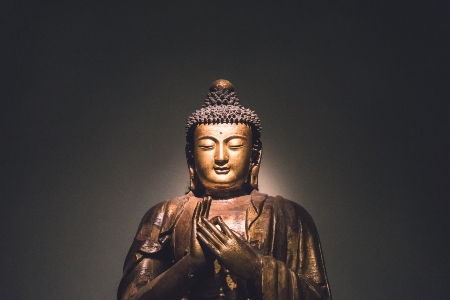 Buddha with teaching mudra
