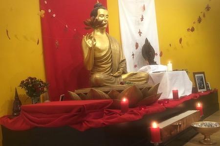 Sangha Day Shrine