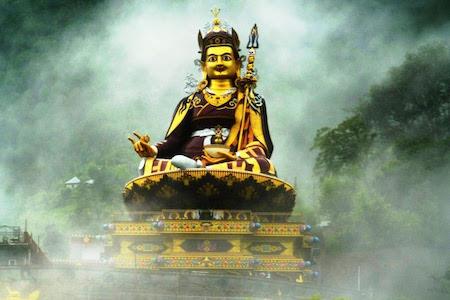 Wrathful Buddha Figure