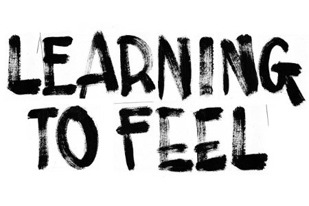 Text saying 'Learning to Feel'