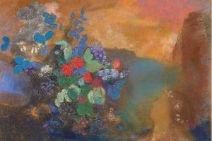 Ophelia and flowers