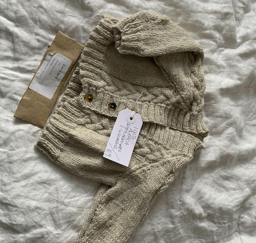 Kula Crafts: Knitted Baby Jacket