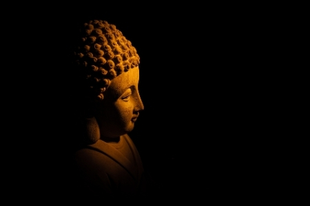 Buddha in light