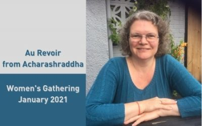 New Talk: Au Revoir from Acharashraddha