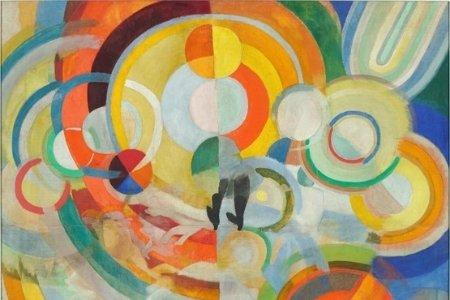 Colourful Circles Painting