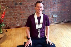 Vidyapala: Man teaching meditation