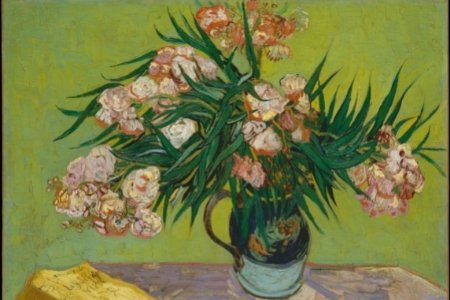 Van Gogh painting of flowers